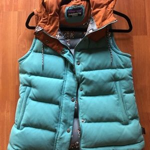 Patagonia Women's Down Bivy Vest Small
